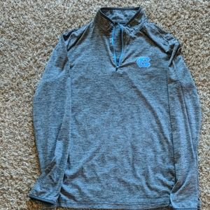 North Carolina light weight 1/4 zip shirt